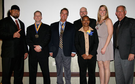 The COC Athletic Hall of Fame Class of 2011.