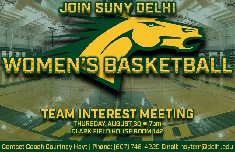 Women's Basketball Team Interest Meeting Scheduled for Aug. 30