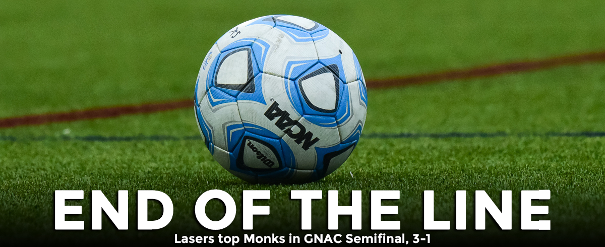 Lasers Top Monks in GNAC Semifinal, 3-1