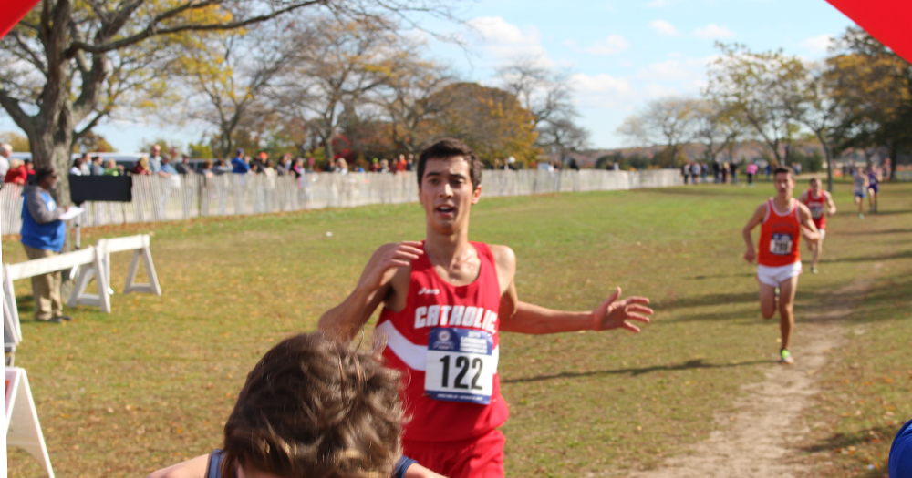 Men's Cross Country Has Strong Showing at Paul Short Run