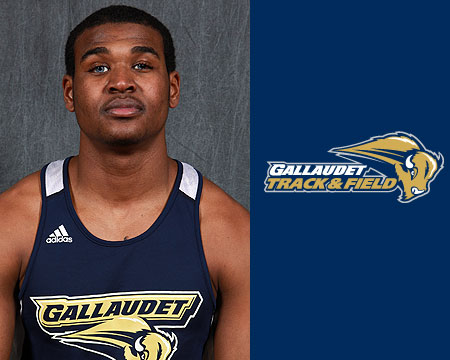 GU's Darius Flowers named CAC Men's Track and Field Rookie of the Year