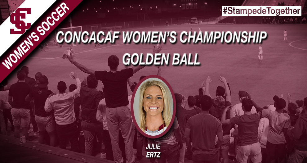 Former Women's Soccer Player Julie Ertz Wins Golden Ball at Concacaf Women's Championship