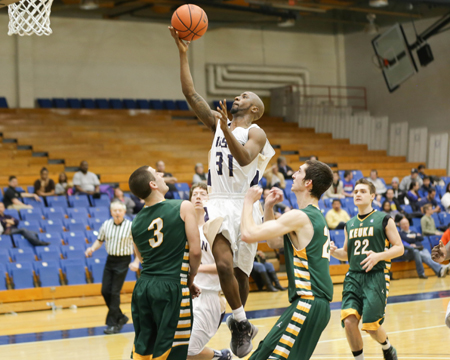 Bison hang on to defeat Keuka, pick-up first NEAC win of the season