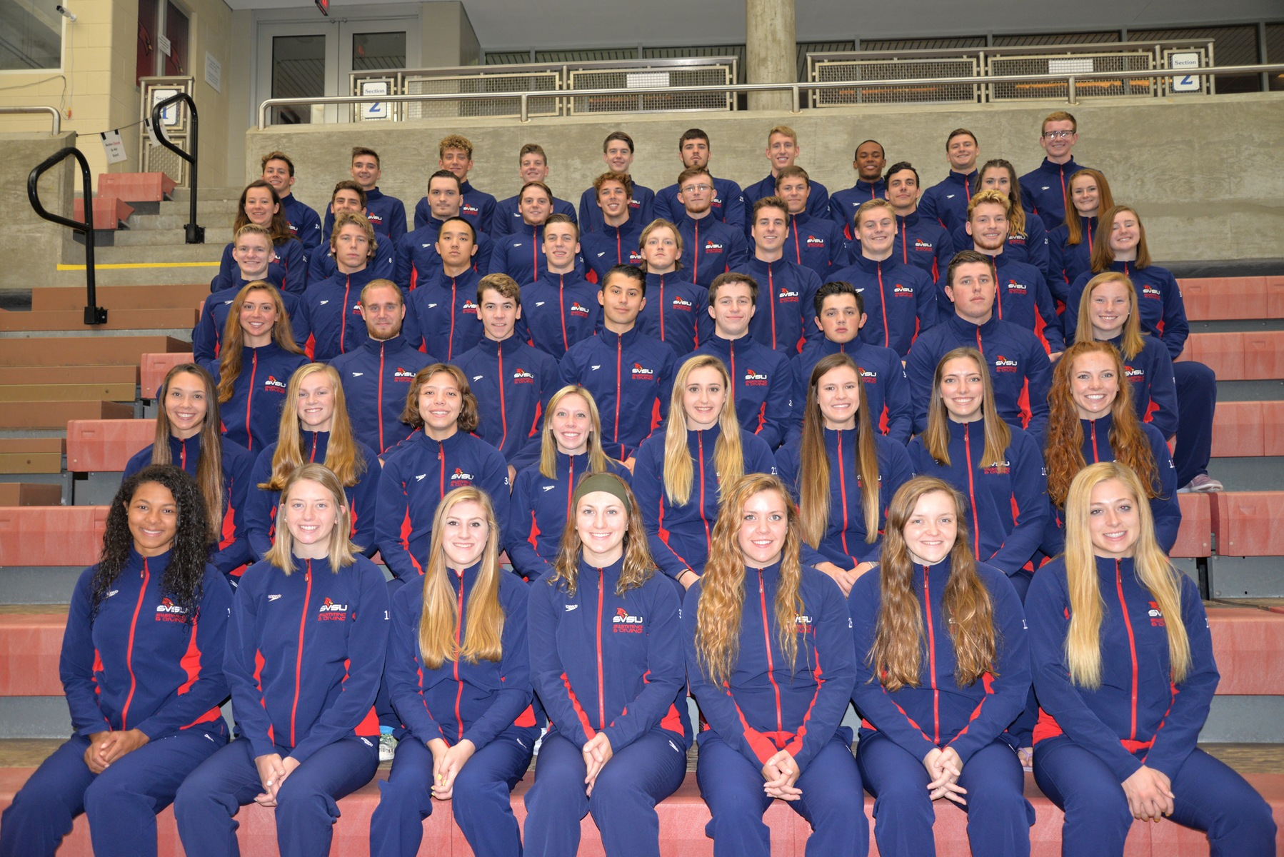 SVSU Swim & Dive competes on opening day of GLIAC Championships
