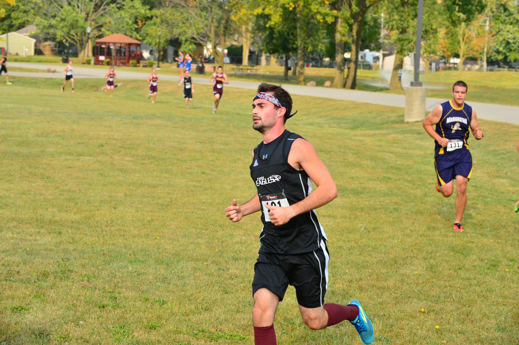 XC Team Ends Regular Season
