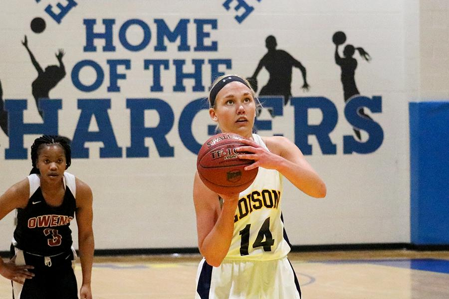 Lady Chargers Defeated by Owens in First Loss of Season
