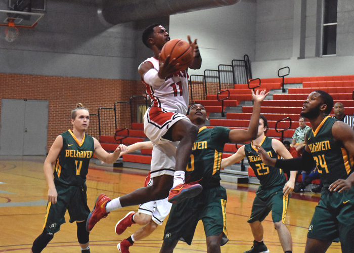 Andre Ashley finished with 14 points and six rebounds in Wednesday's loss to LaGrange.