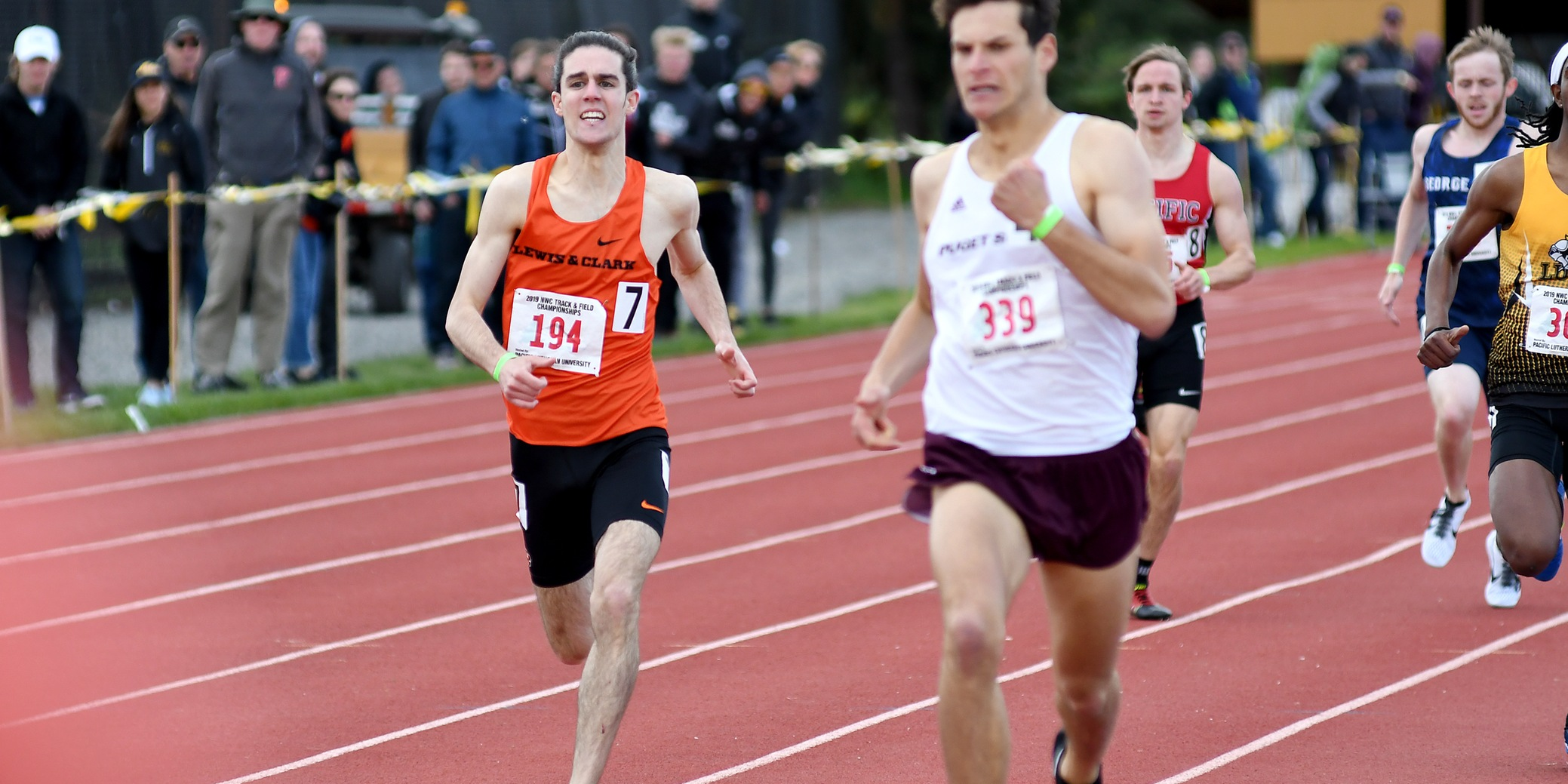 Haro Ruiz places in top three twice as Pios compete at NWC Championships
