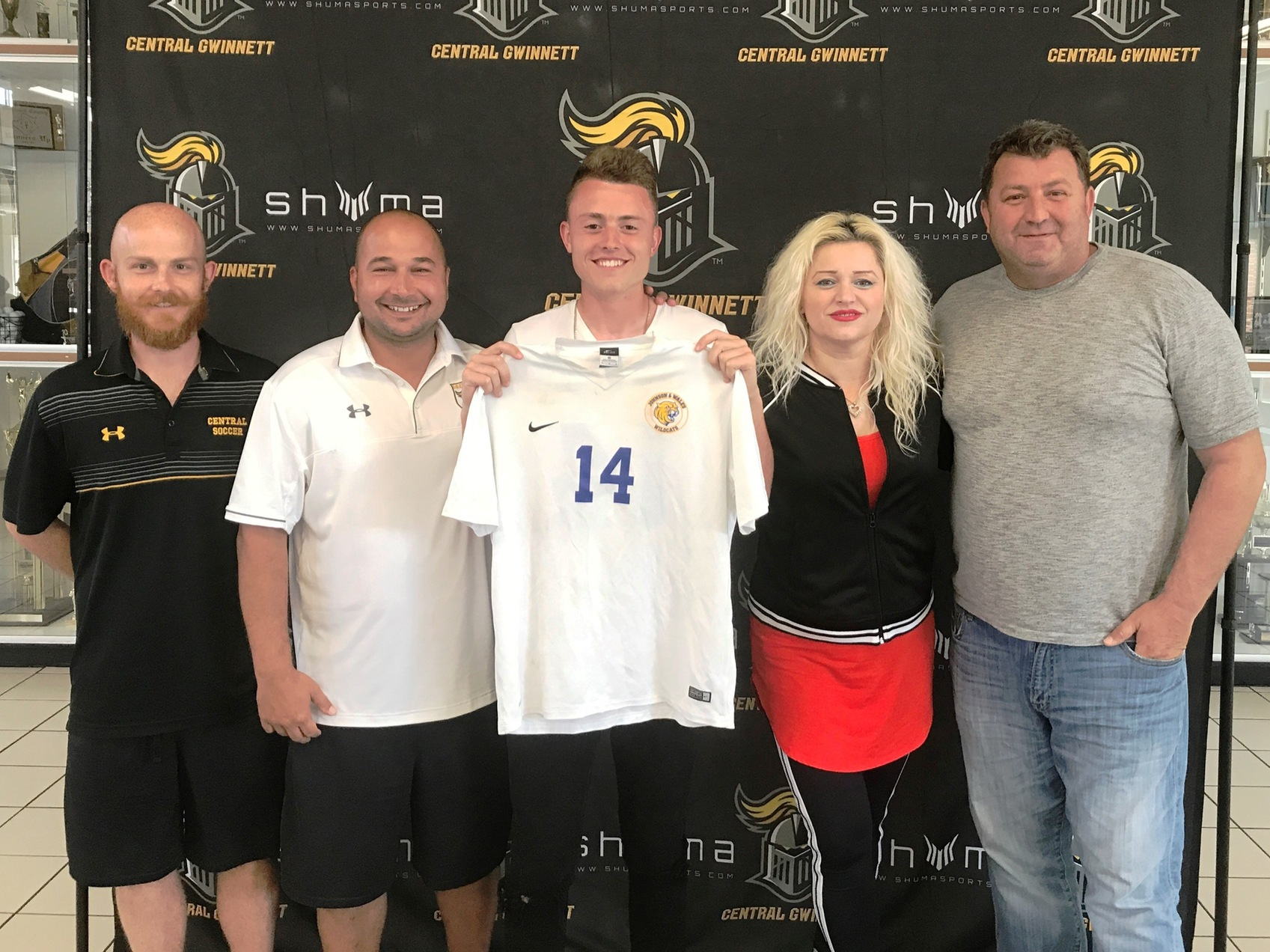 JWU Men's Soccer Signs Central Gwinnett Midfielder Sanjin Kostic