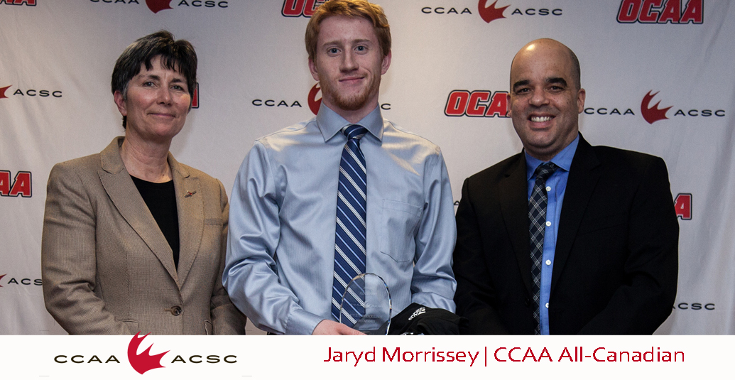Jaryd Morrissey Named CCAA Badminton All-Canadian