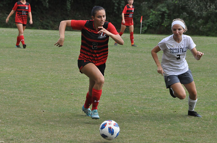 Women's Soccer: Panthers blank Toccoa Falls 2-0 for first win of season