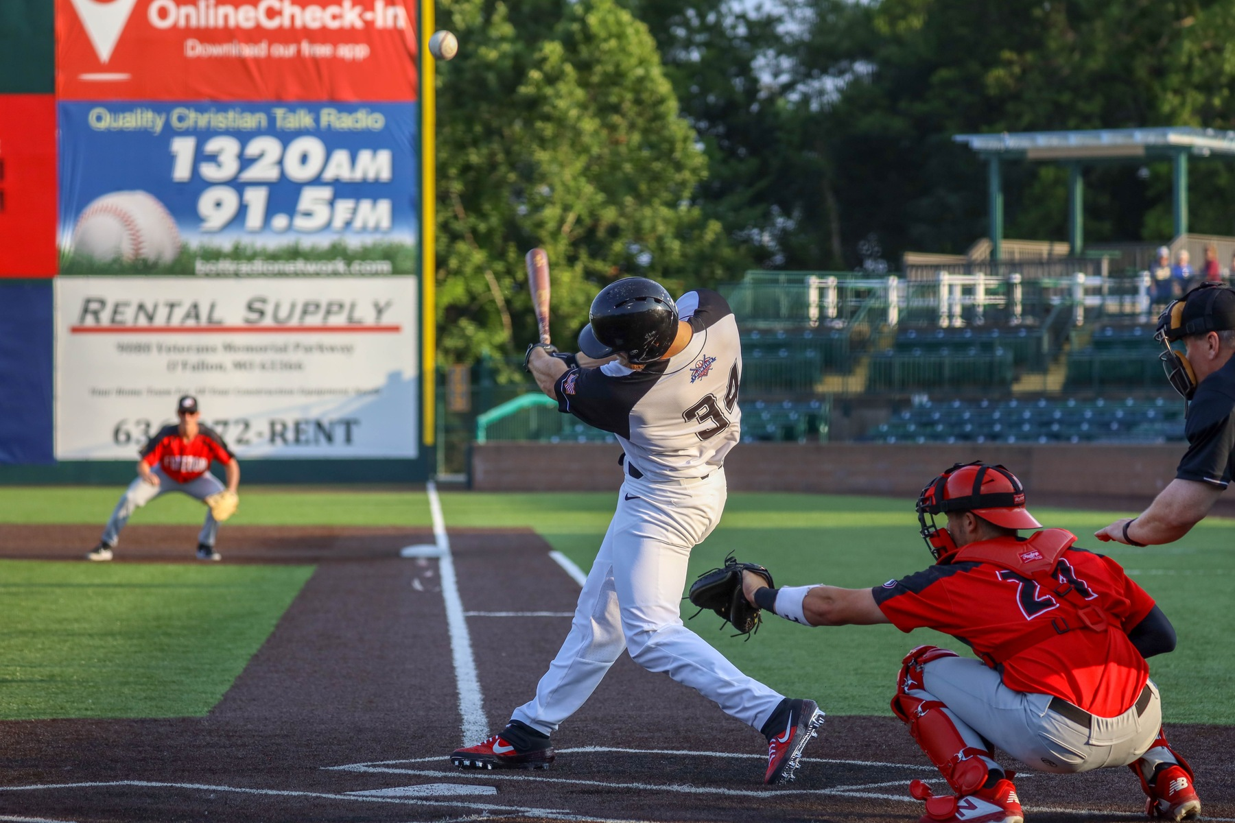 Rascals Swept in Doubleheader