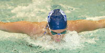 Southern Connecticut's Kristen Frost Named 2007-2008 Women's Swimming & Diving Athlete of the Year