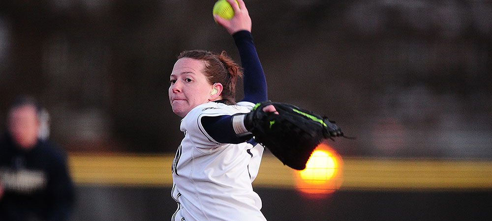 Bison softball drop two on the road to Wilson