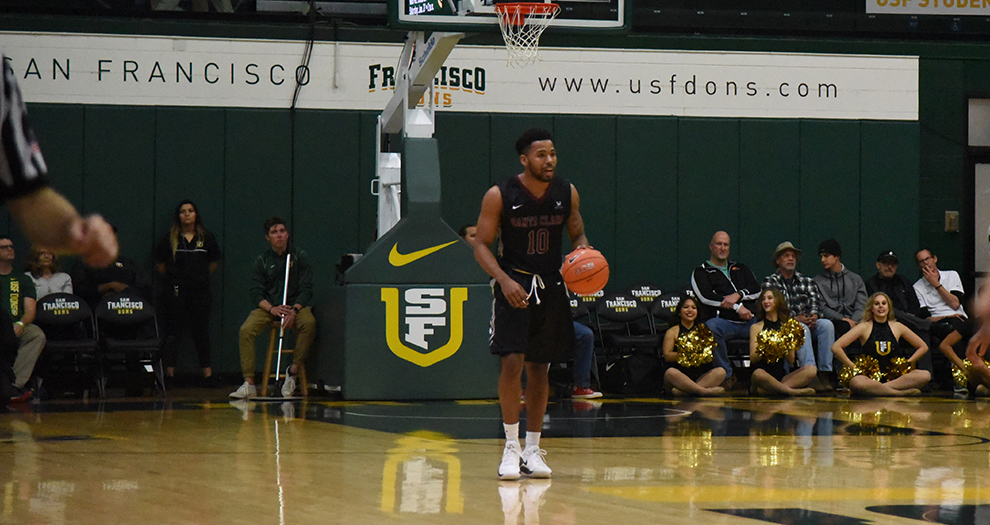 Men's Basketball Claims Gritty Road Win Over San Francisco