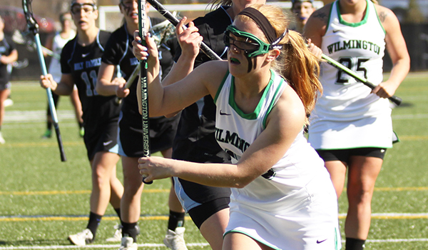Wilmington Women's Lacrosse Earns First Victory of 2015 with 14-8 Win at Delaware State