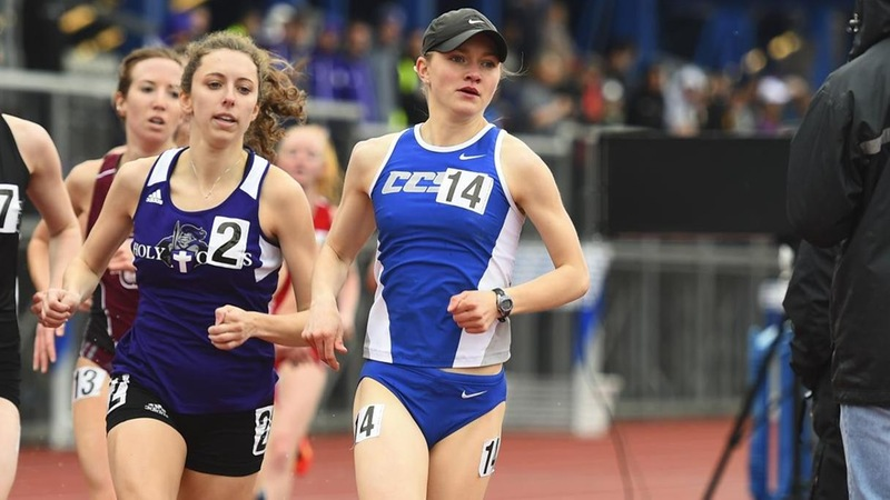 Mendelson Sets 5K School Record at Mt. Sac Relays, Track Takes on Northeast Challenge