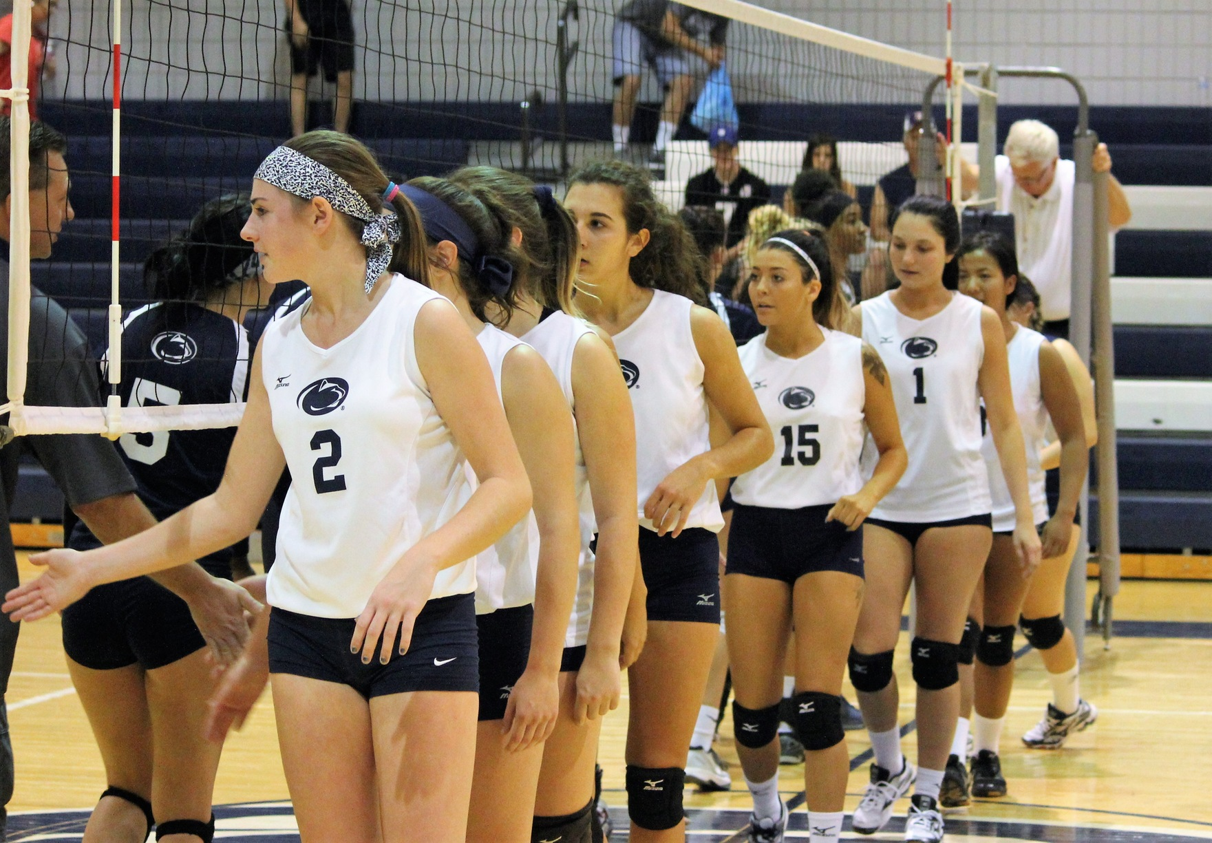 Women's Volleyball Drops Two at PSUAC Quad Match