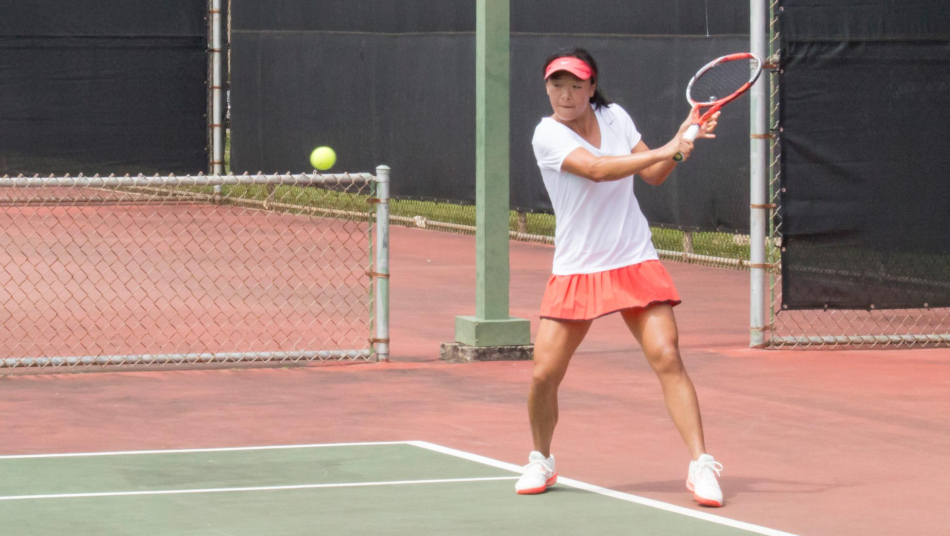 Zhang competes in Hawaii Open