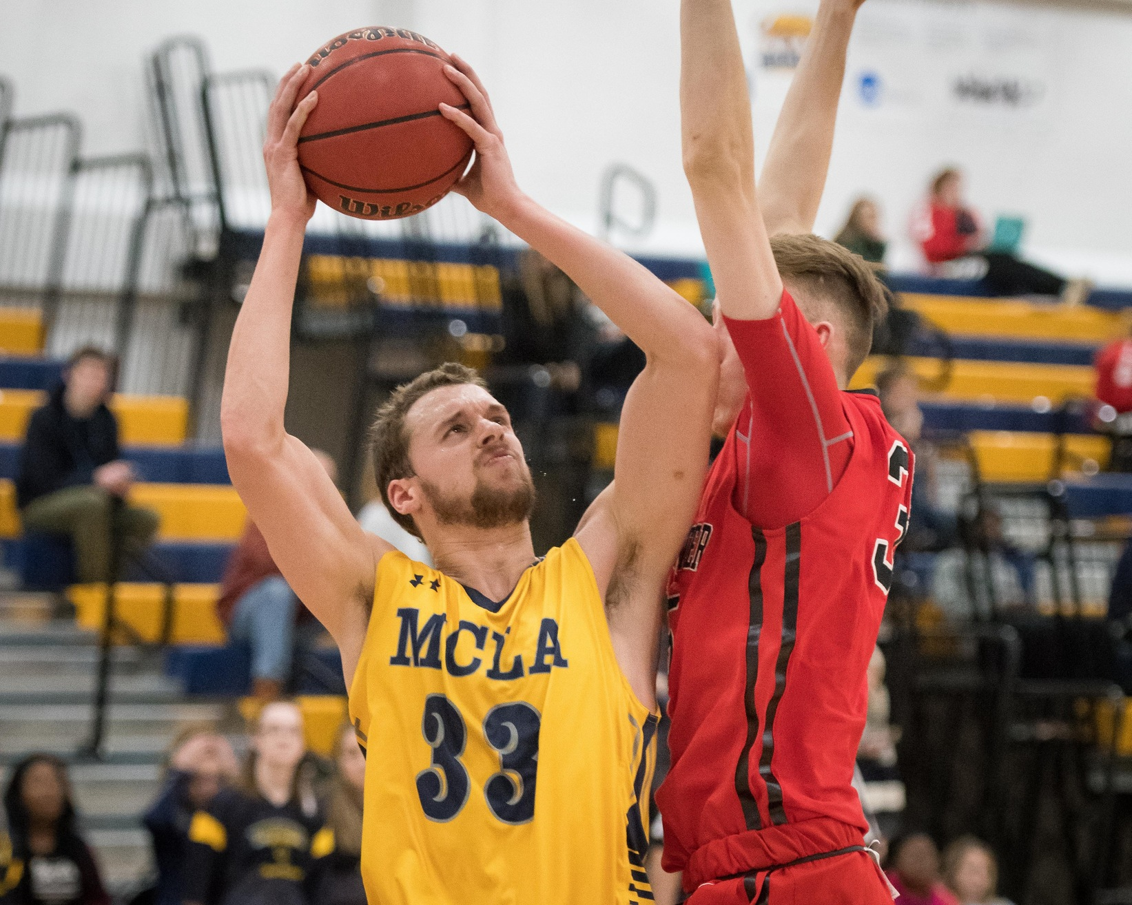 Turnovers plague MCLA Men's Basketball in 70-62 loss to Pine Manor