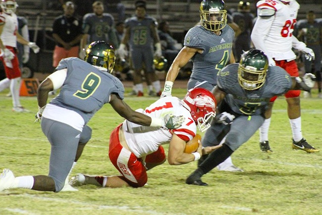 #19 Scottsdale Defense Bombards #11 Mesa Offense in 38-28 Loss to Artichokes