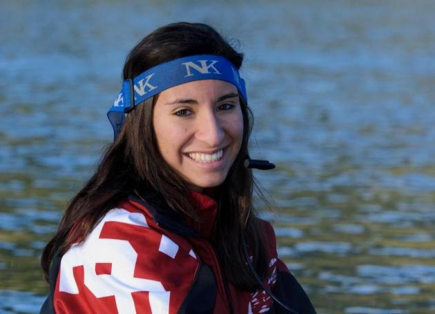 Meet Men's Rowing Coxswain Angelica Salinas