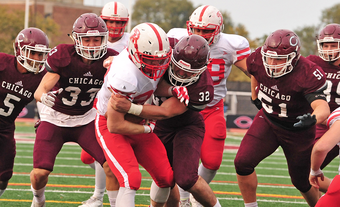 UChicago Football Stifles Ripon Rushing Attack in 35-6 Victory