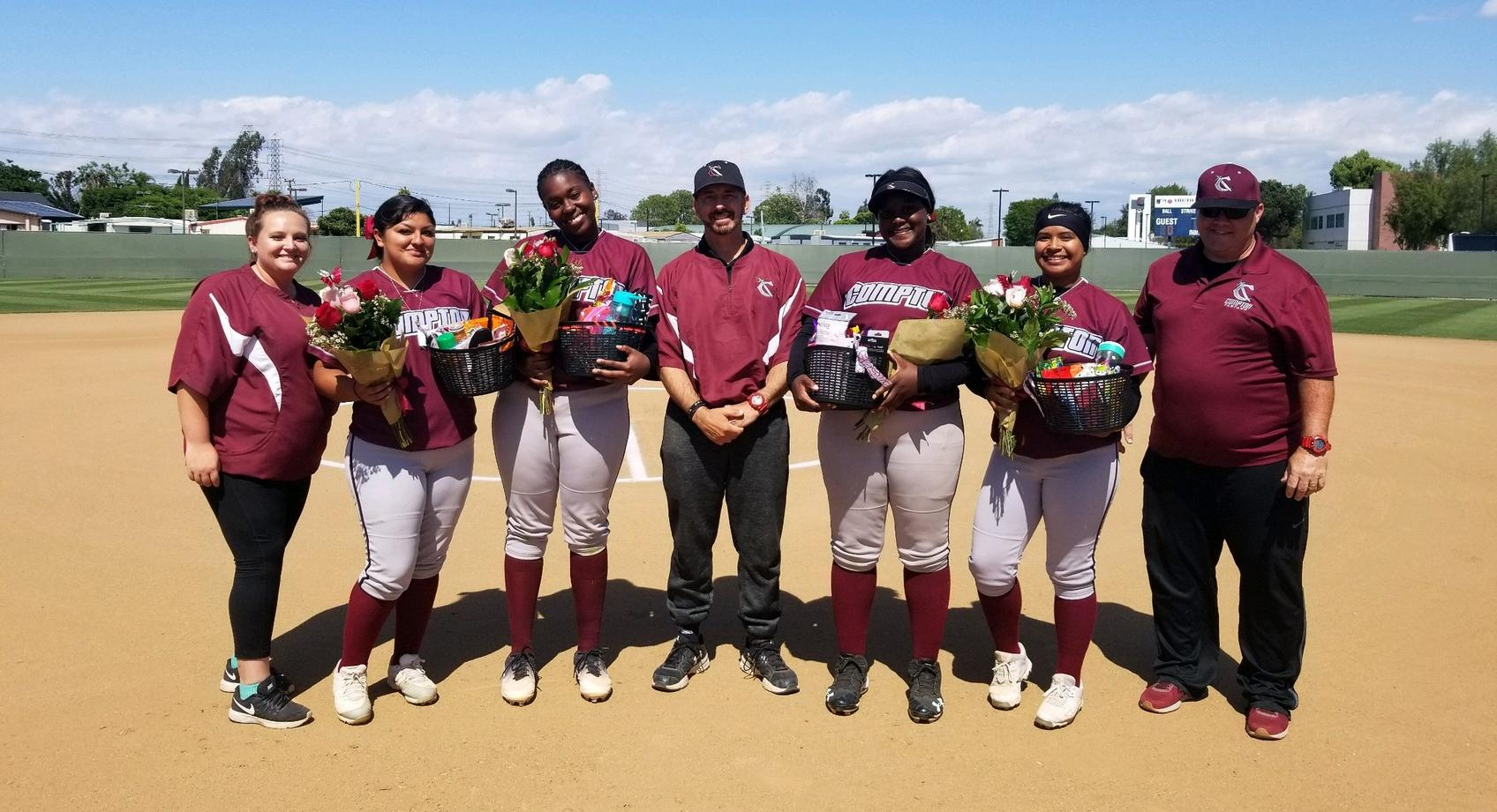 Softball Falls to Cerritos on Sophomore Day