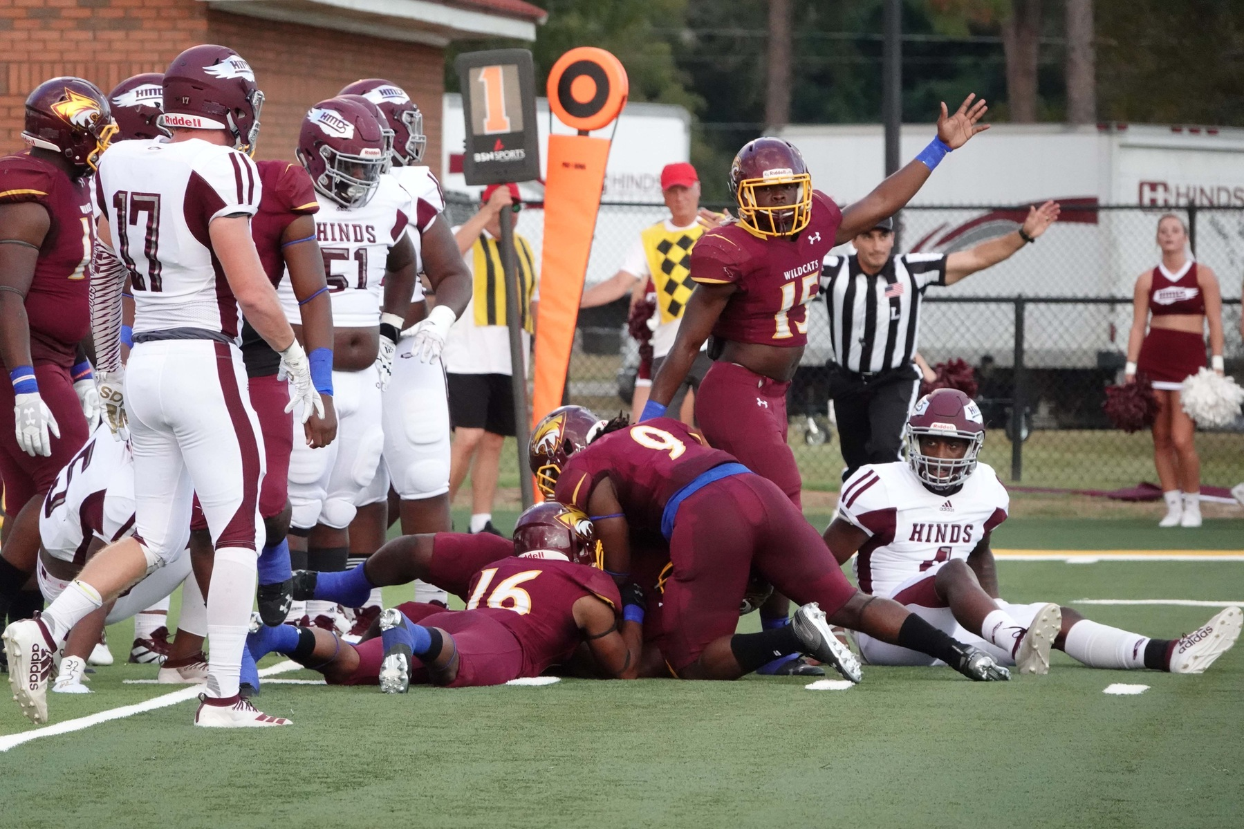 Pearl River struggles against No. 16 Hinds
