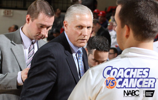Head Coach Jerry Slocum, NE Ohio Division I Coaches Unite For Coaches vs. Cancer Program