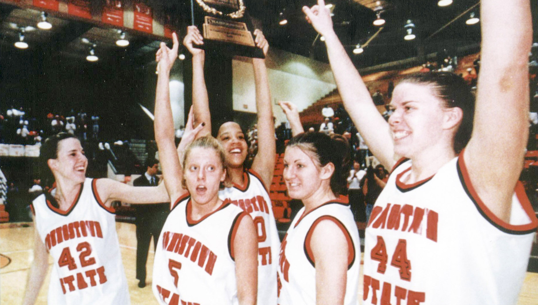 1997-98 YSU Women's Basketball Team