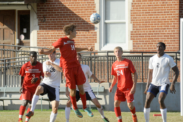 Huntingdon men's soccer falls at Piedmont