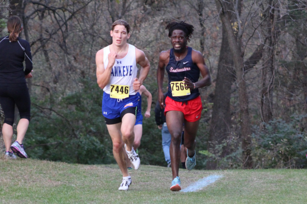 Men's Cross Country Second in Region XI Championships