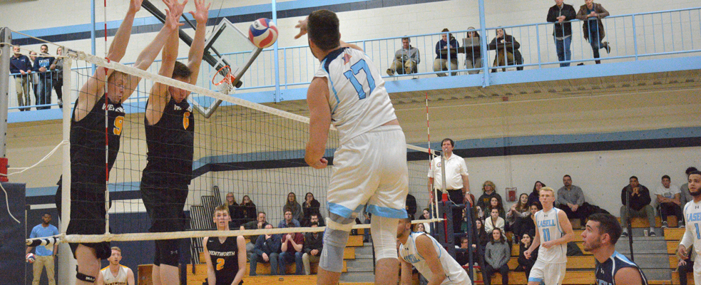 Vautrin Smashes 1,000th Career Kill in GNAC Tri Match