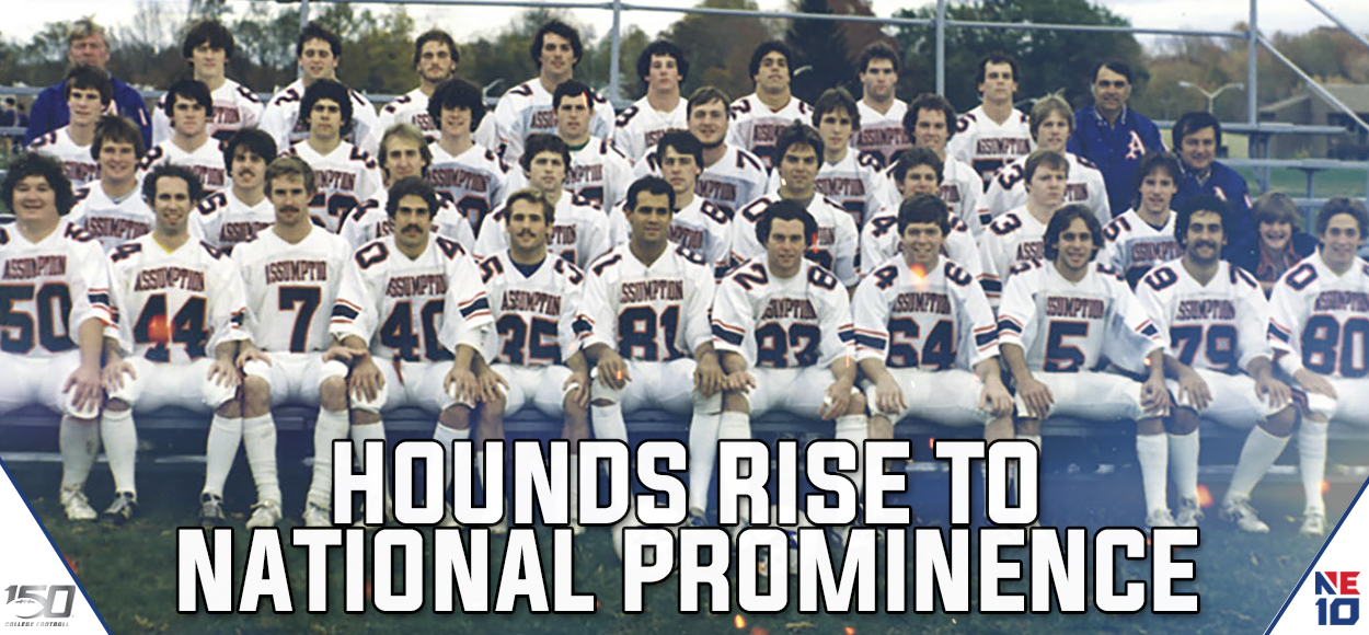 #CFB150: Assumption Football Climbing the National Ranks Since Becoming Varsity in 1988