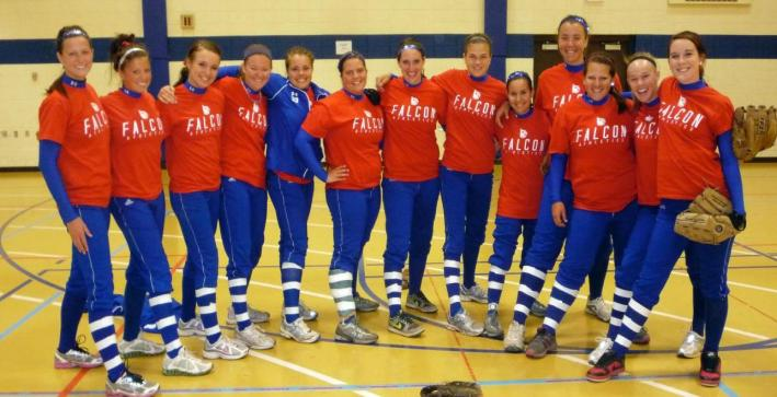 Softball supports Leukemia Research Foundation with donation