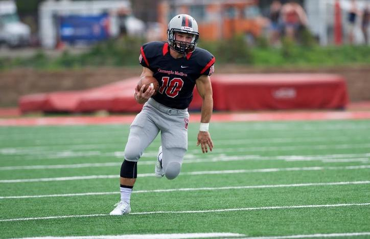 Benger, Khoury and Renna Set Single-Season School Records as Football Wins at Thiel
