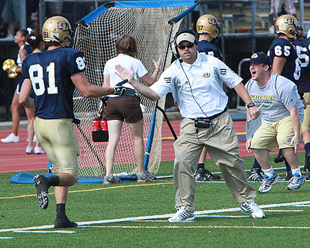 Preseason football chat replay with Gallaudet coach Chuck Goldstein