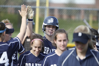 Five from softball team named All-New England