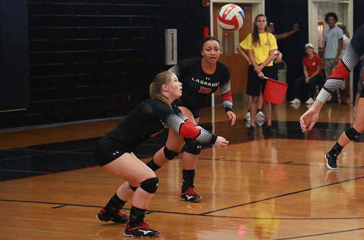 Volleyball: Panthers sweep Judson for third straight win