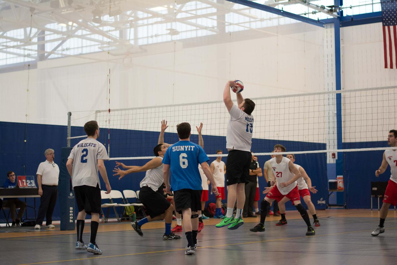 Men's Volleyball Serves Way to 3-0 Sweep at Opening Day of Keuka Invite