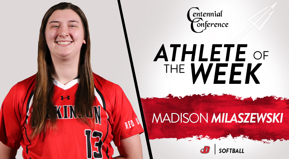 Milaszewski Earns CC Pitcher of the Week Honor