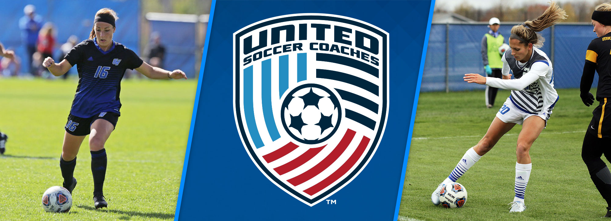 GVSU's Mencotti, Johnson Named United Soccer Coaches All-Americans