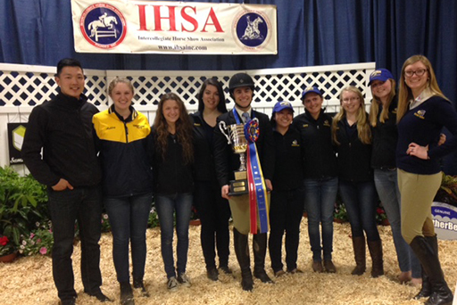 IHSA Crowns Fink National Champion in Open Flat