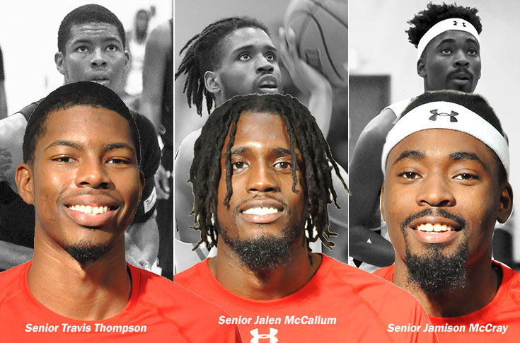 Men's Basketball: Panthers place record three players on USA South All-Conference teams