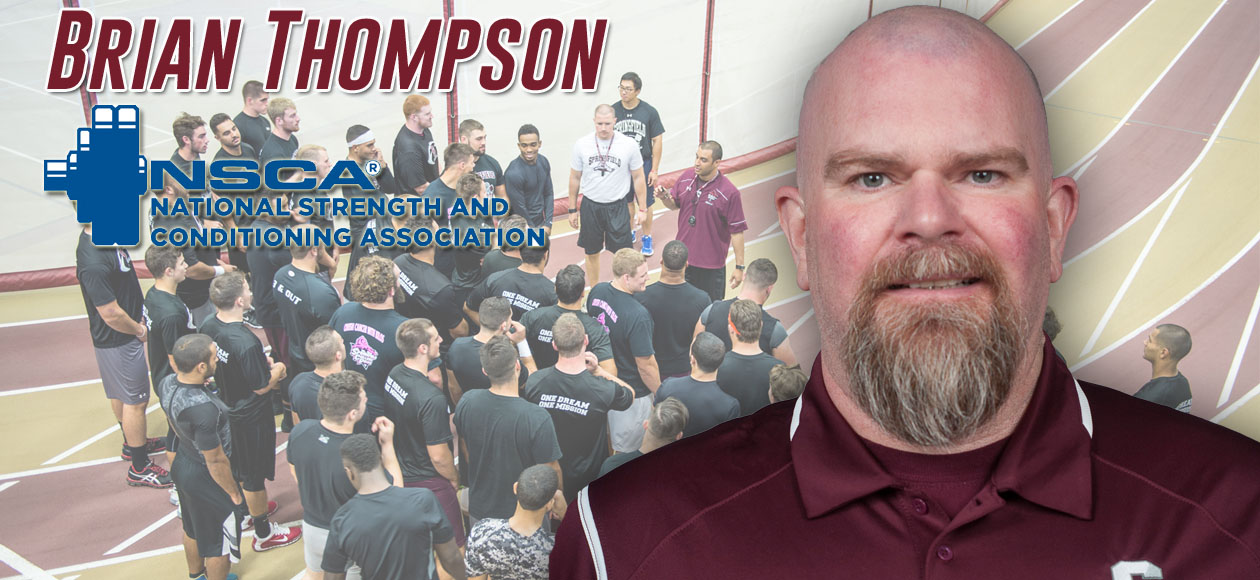 Thompson Awarded Highest Honor From National Strength and Conditioning Association