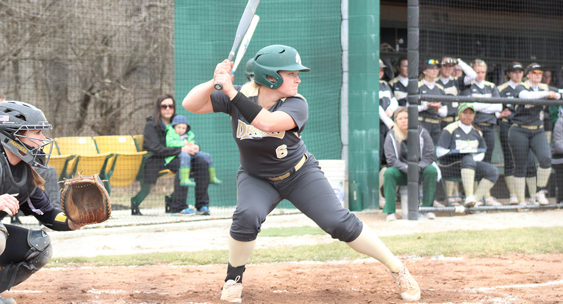 Chloe Swaisgood had three hits with a home run in Tiffin's 11-7 win at Trevecca Nazarene.