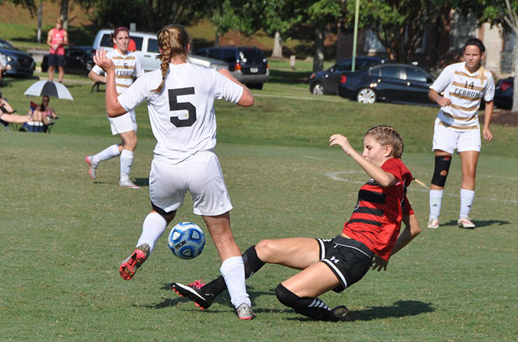 Women's Soccer: Panthers take on conference co-leader Meredith