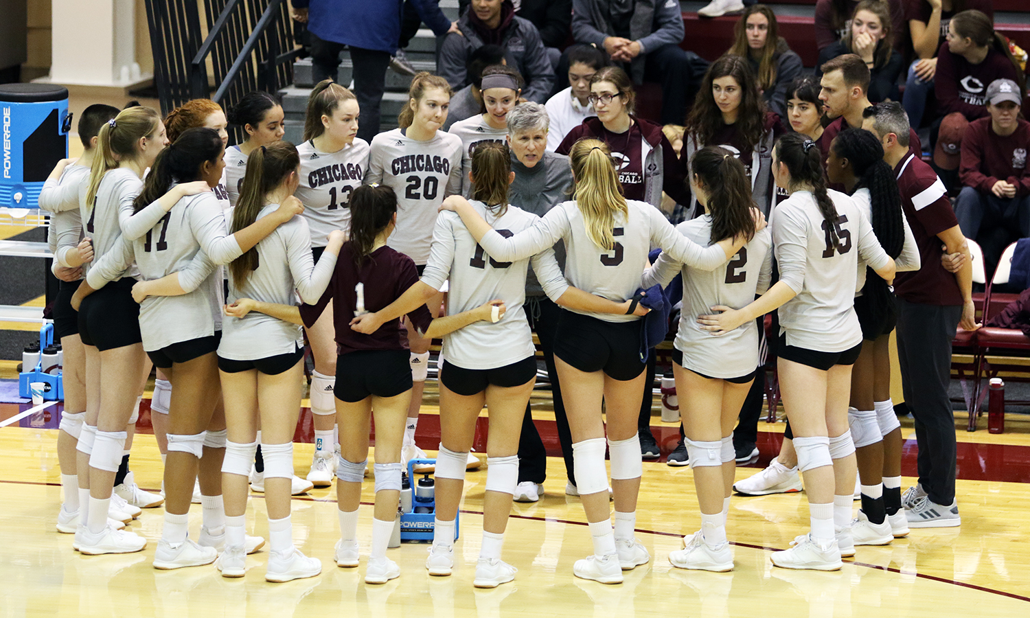 Maroon Volleyball Edged by Carthage 3-2 in NCAA Third Round