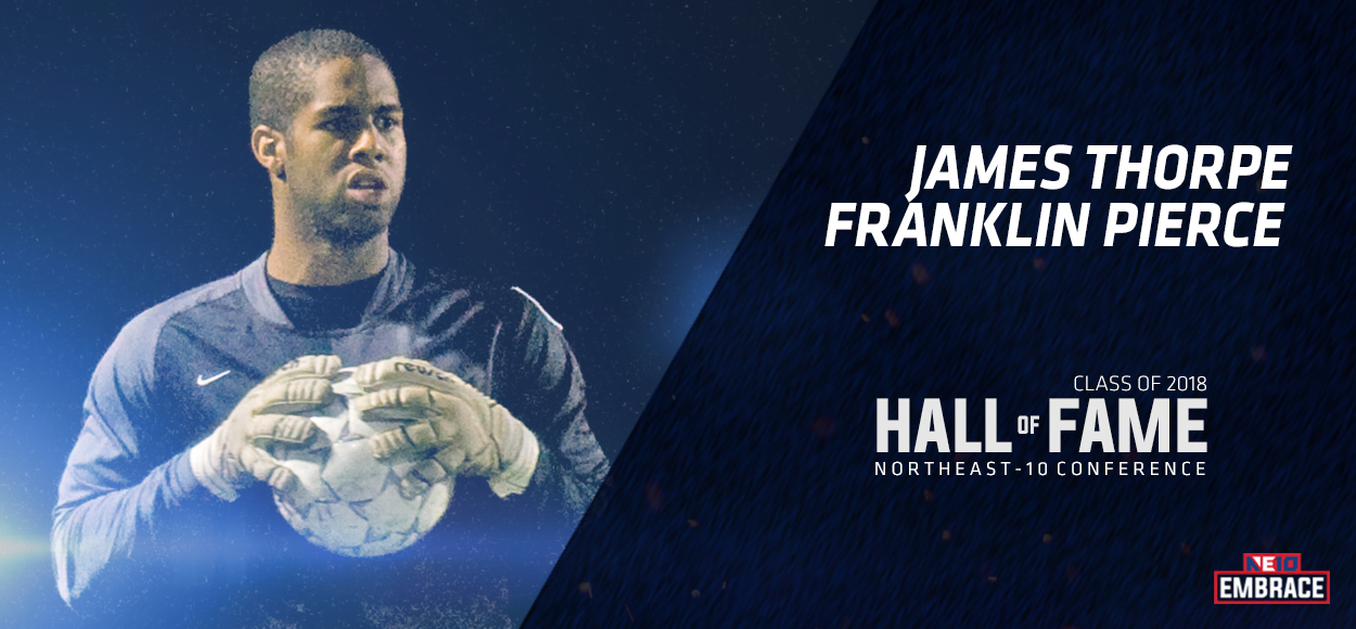 NE10 Hall of Fame Inductee: James Thorpe, Franklin Pierce Soccer